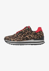 Gabor - WIDE FIT - Trainers - savanne/rosso - 1