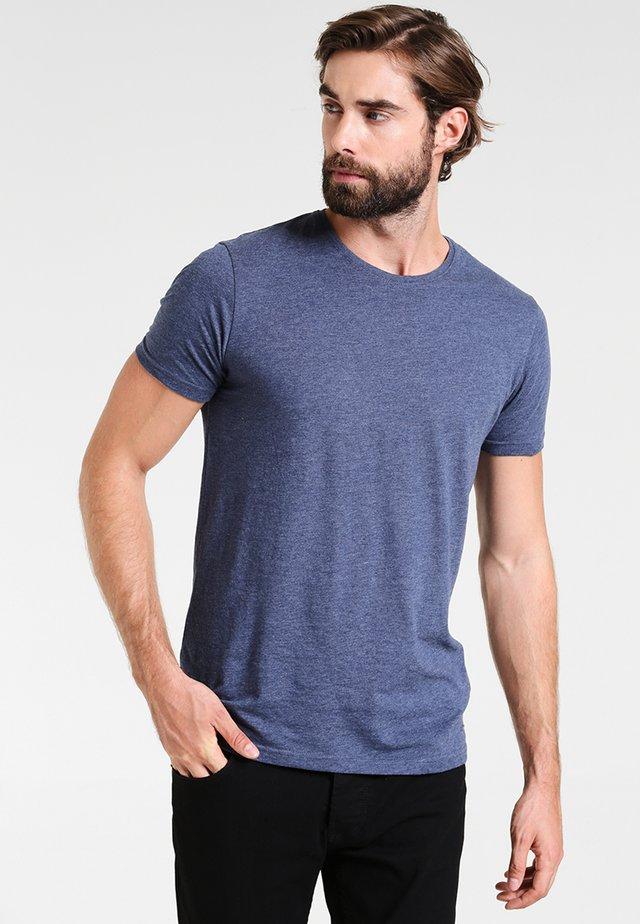 BASIL - Basic T-shirt - blue