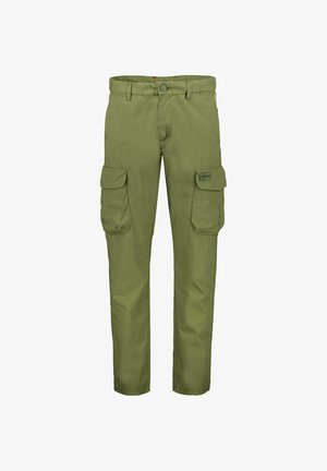MORI - Cargo trousers - oliv