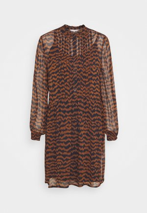 TEMPLE - Day dress - choclat glaze