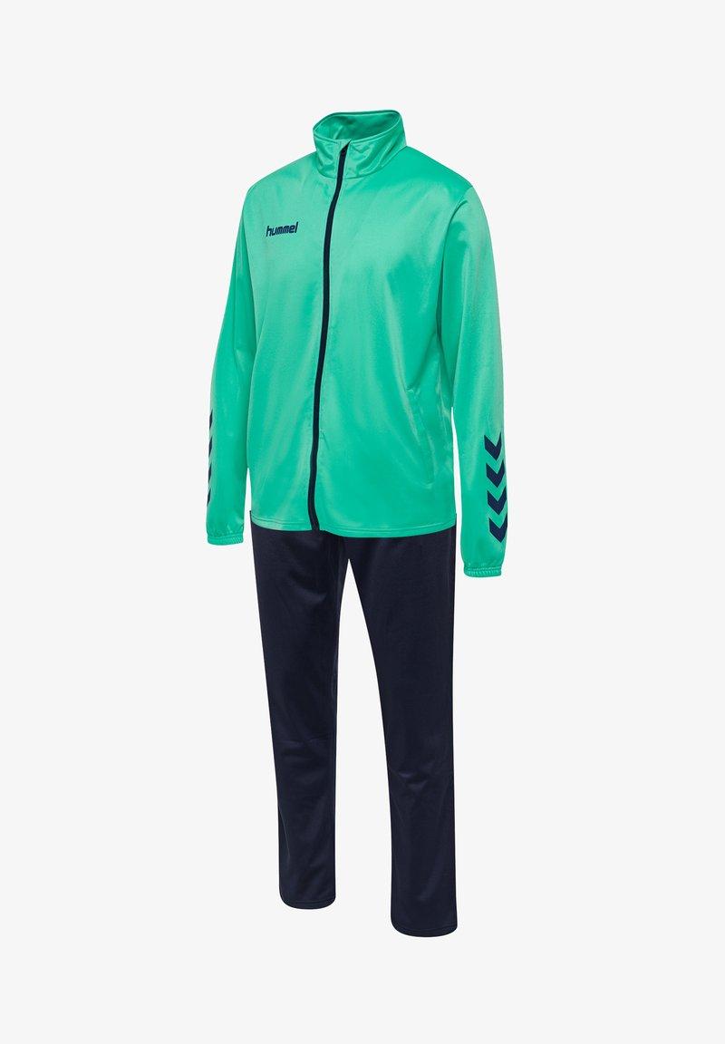 Hummel - TWO PIECE SET - Training jacket - atlantis/marine