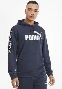 Puma - AMPLIFIED  - Hættetrøjer - dark denim - 0