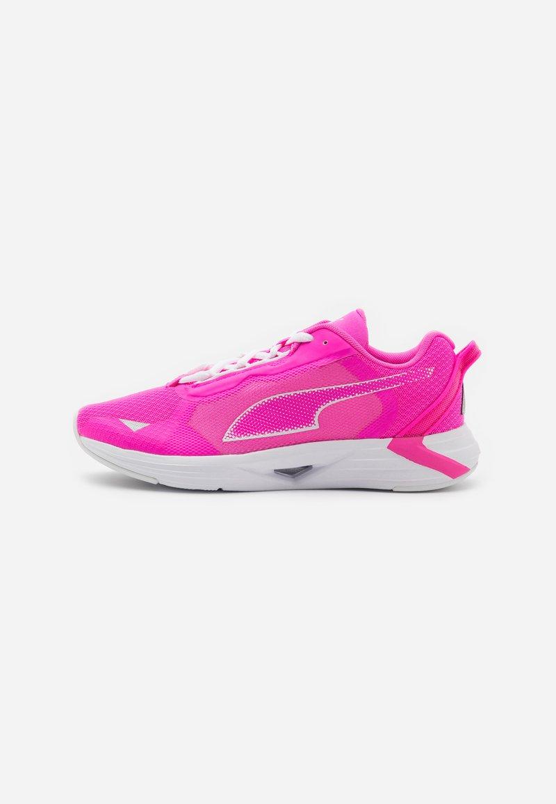 Puma - MINIMA  - Zapatillas de running neutras - luminous pink/white