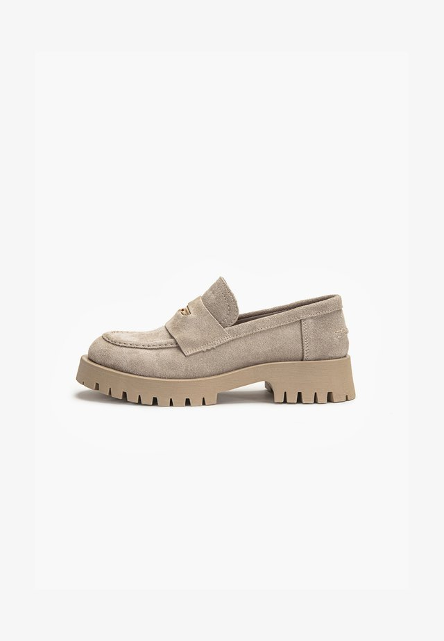 Loafers - sd beige cbe