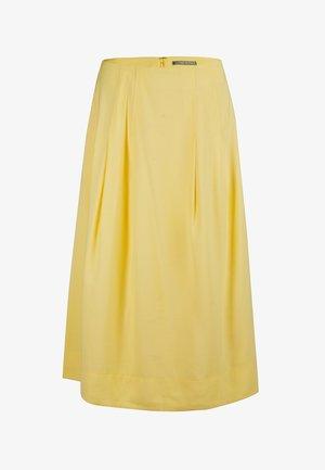 A-line skirt - jaune