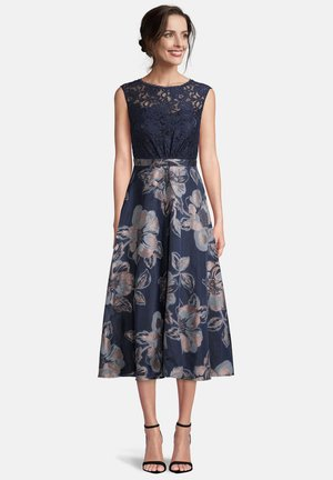 Cocktail dress / Party dress - dark blue light blue