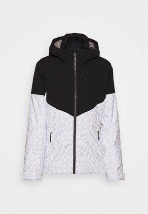 TANSY LADY - Snowboard jacket - white/black