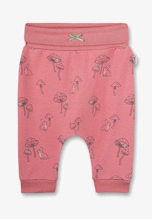 MUSHROOMS - Trousers - rosa