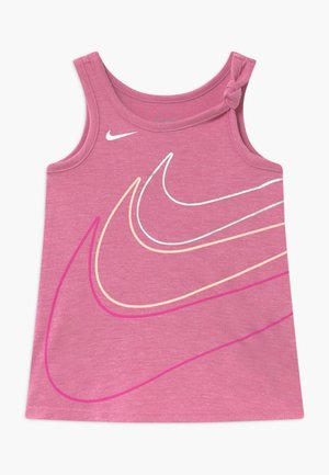 GIRLS KNOT TANK BABY - Jerseykjoler - magic flamingo