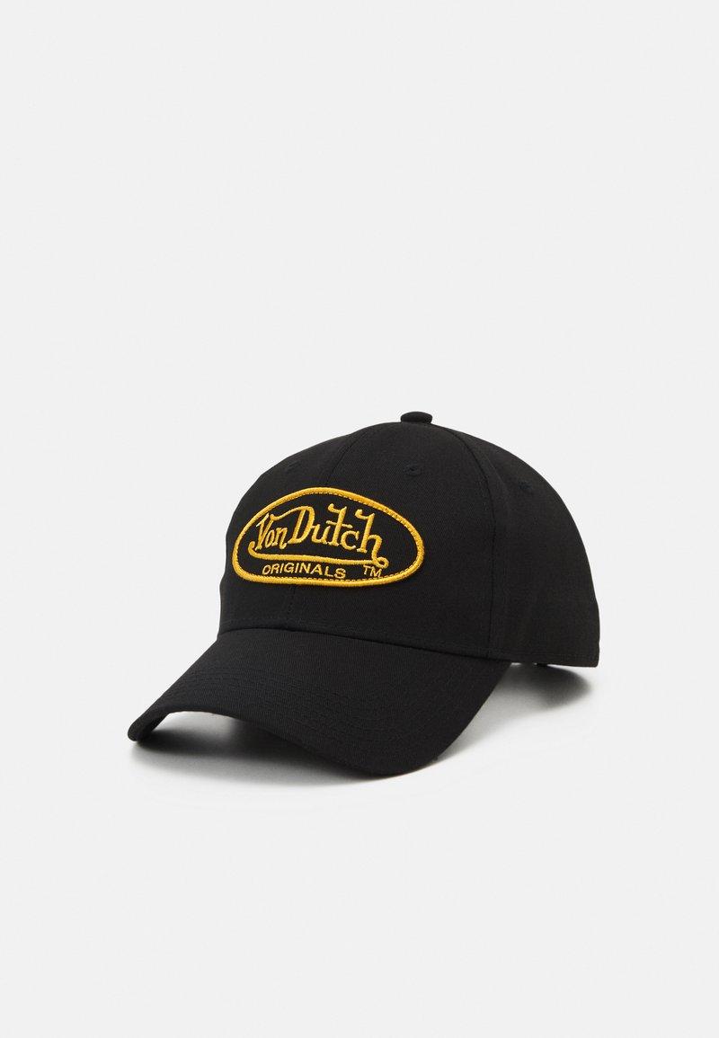 Von Dutch - DAD BASEBALL OVAL LOGO UNISEX - Cap - black