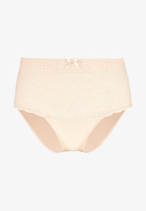 EDEN HIGH WAIST BRIEF - Trusser - oatmeal