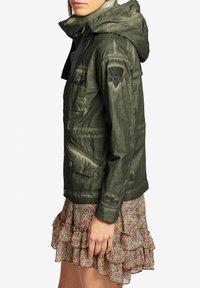khujo - SHAMA - Summer jacket - olive - 3