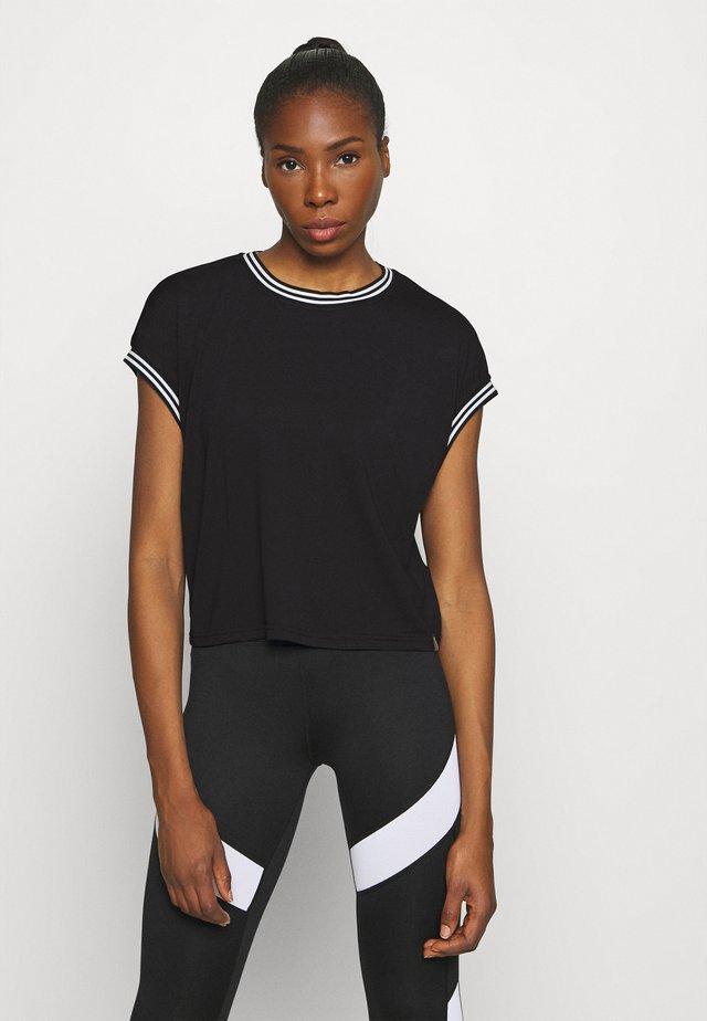 ONPADY TEE - T-shirt print - black/white
