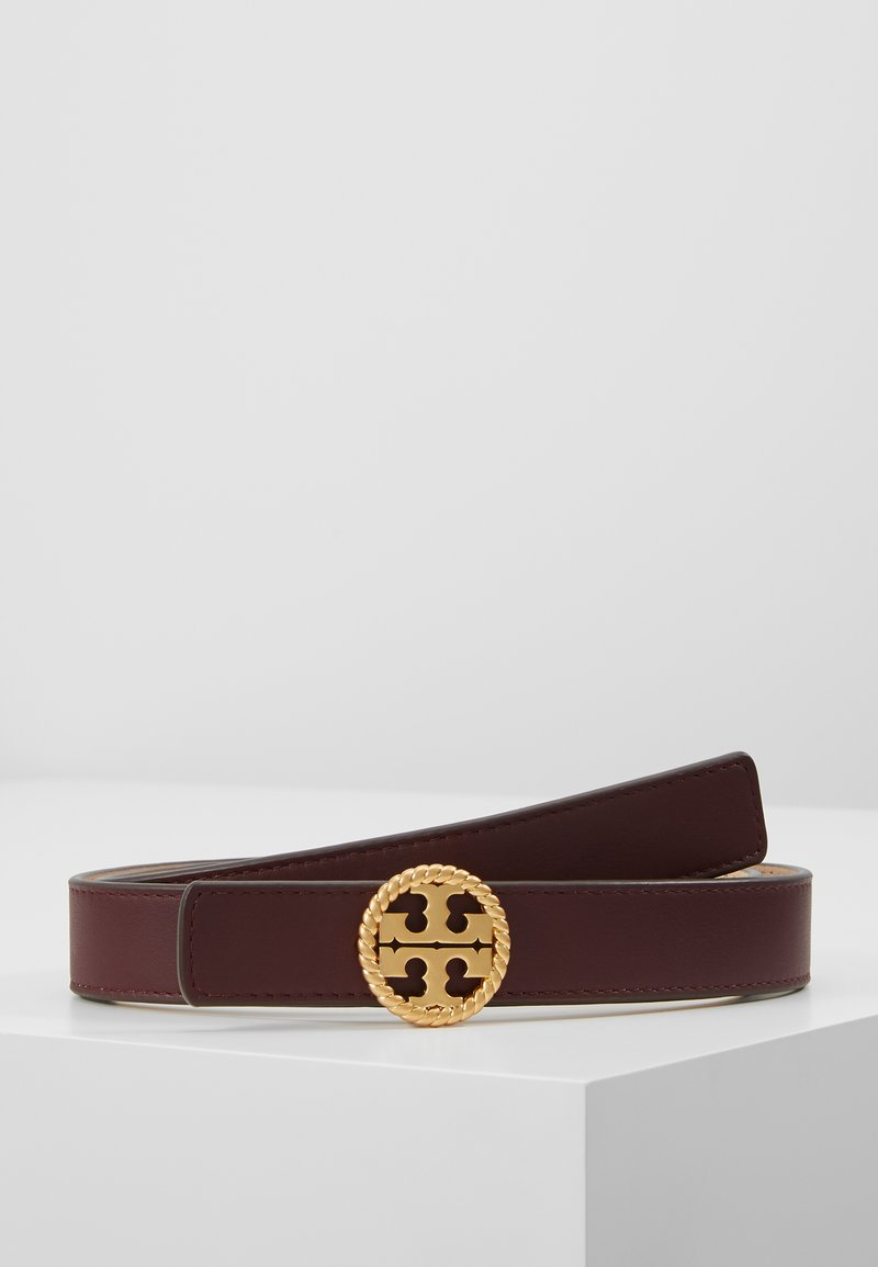 Tory Burch - TWISTED LOGO BELT - Belt - port