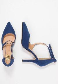 Buffalo - Zapatos altos - navy dark - 3