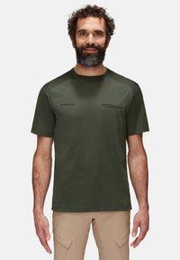 Mammut - CRASHIANO - Basic T-shirt - woods melange - 0