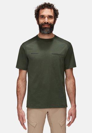 CRASHIANO - T-Shirt basic - woods melange