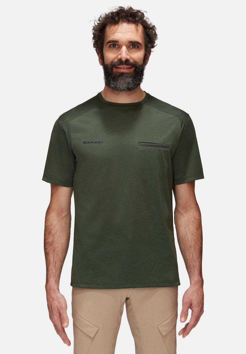 Mammut - CRASHIANO - Basic T-shirt - woods melange