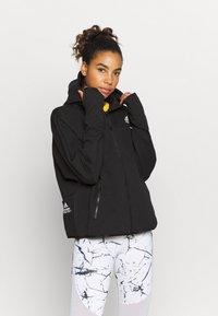 adidas Performance - Zip-up hoodie - black - 0