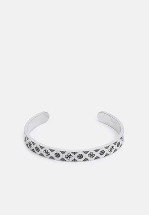 BANGLE PEONY PATTERN UNISEX - Bracciale - antique silver-coloured matt