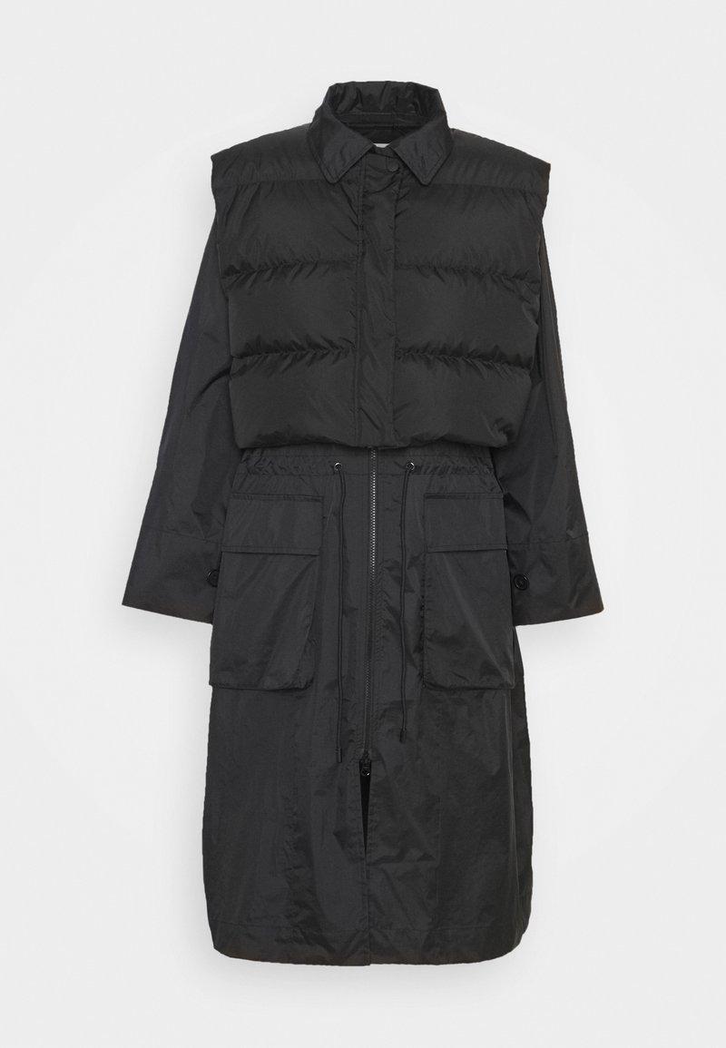 H2O Fagerholt - RAIN COAT - Short coat - black