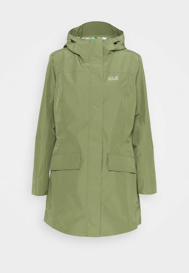 CAPE YORK PARADISE - Waterproof jacket - light moss
