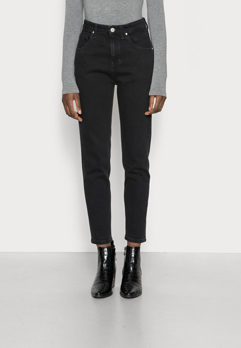 Marc O'Polo DENIM - FREJA - Relaxed fit jeans - black marble