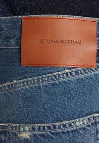 Victoria Beckham - VICTORIA - Straight leg jeans - vintage wash light - 8
