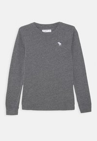 Abercrombie & Fitch - BASIC - Langærmede T-shirts - grey - 0