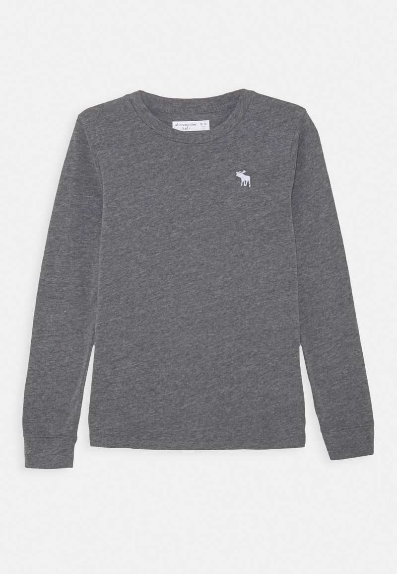 Abercrombie & Fitch - BASIC - Langærmede T-shirts - grey