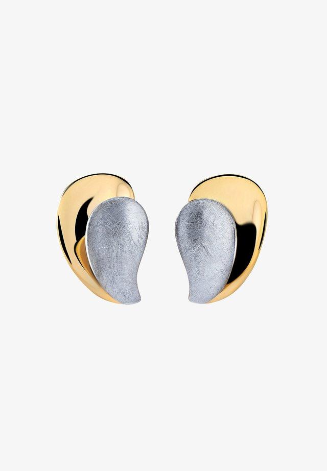 TAROT - Boucles d'oreilles - white/gold