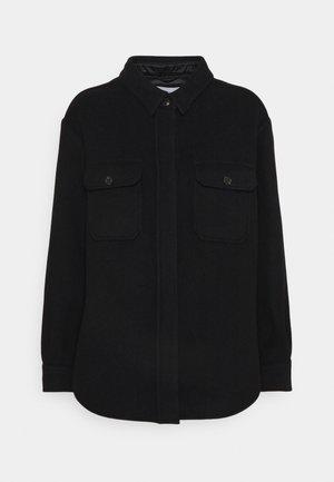KALLY - Short coat - black