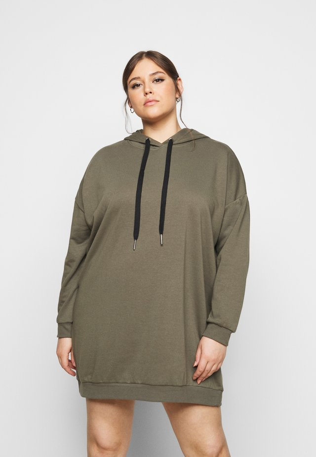 NMHATTIE DRESS CURVE - Vapaa-ajan mekko - kalamata