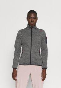 Campagnolo - Fleece jacket - nero/grey - 0
