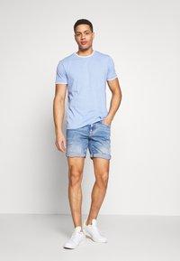 Esprit - Print T-shirt - bright blue - 1
