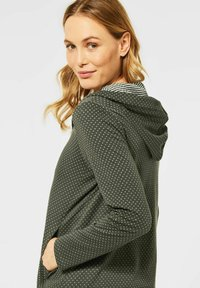 Cecil - Zip-up sweatshirt - olive - 1