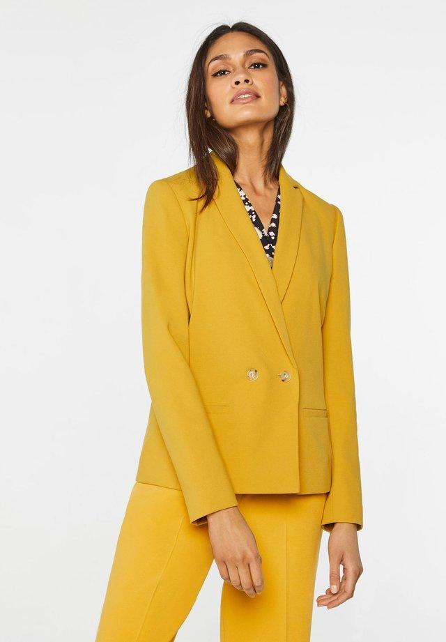 Bleiseri - mustard yellow