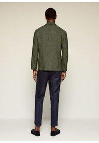 Mango - Blazer jacket - kaki - 2