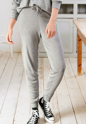 KNIT CO-ORD - Tracksuit bottoms - grey
