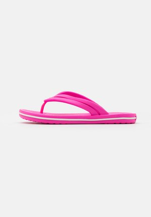 CROCBAND - Bade-Zehentrenner - electric pink