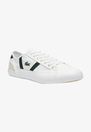Baskets basses - white/dark green