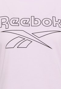 Reebok - ELEMENTS SPORT SHORT SLEEVE GRAPHIC TEE - Camiseta estampada - pink - 2