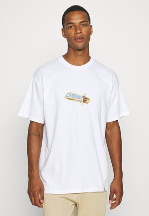 CHOCOLATE BAR - T-shirt con stampa - white