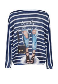 Alba Moda - Jumper - blau,off-white - 6