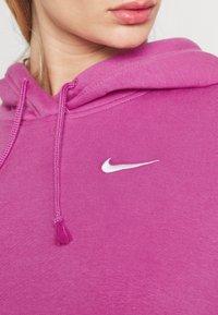 Nike Sportswear - HOODIE TREND - Sweatshirt - active fuchsia/white - 5