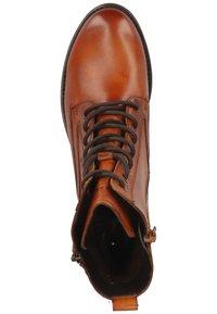Bugatti - Lace-up ankle boots - cognac 6300 - 1