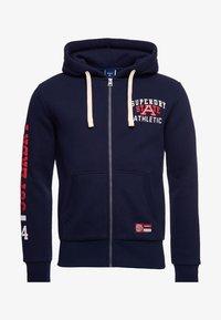 Superdry - SUPERDRY TRACK & FIELD GRAPHIC - Zip-up hoodie - nautical navy - 3