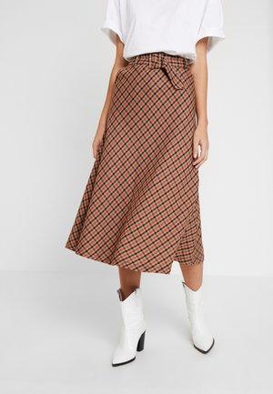 KADOLORES SKIRT - A-lijn rok - tiger's eye