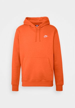 Club Hoodie - Luvtröja - electro orange