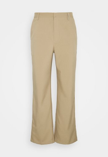 BARTS TAILORED TROUSER - Tygbyxor - stone